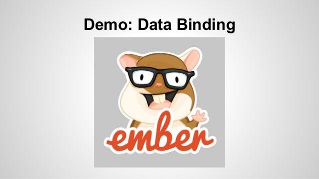 Demo: Data Binding  template
