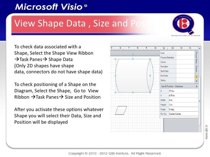 Microsoft visio detailed presentation verticallyformatmanaging viewing shape data 22 ccuart Gallery