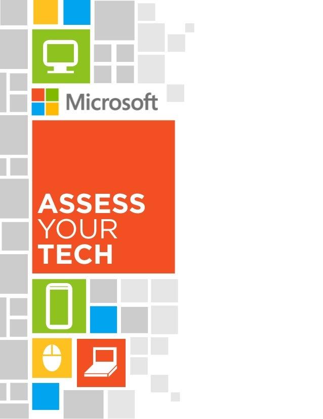 Assess Your Tech