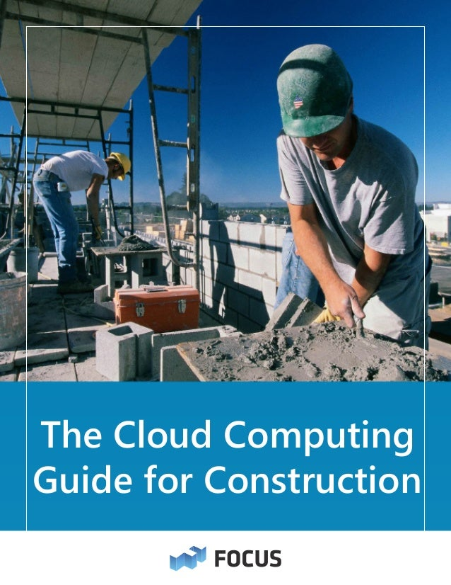 The Cloud Computing Guide for Construction
