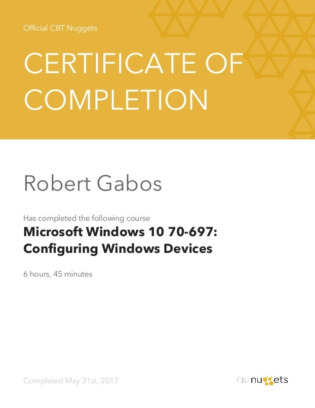 cbt nuggets windows 10 cert torrent