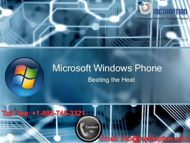 Beating the Heat Microsoft Windows Phone