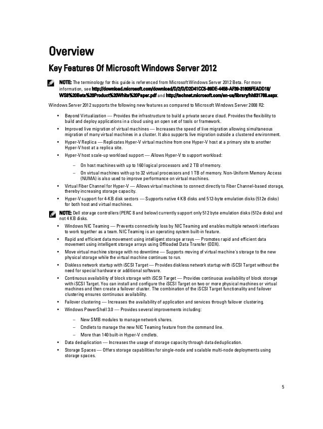 Microsoft Windows Server 2012 Early Adopter Guide