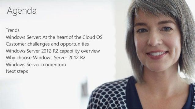 Microsoft Windows Server 2012 R2 Overview - Presented by Atidan Slide 2