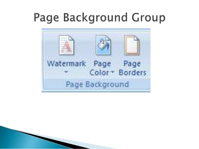 ms word page background