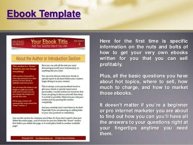 Microsoft Word Book Template