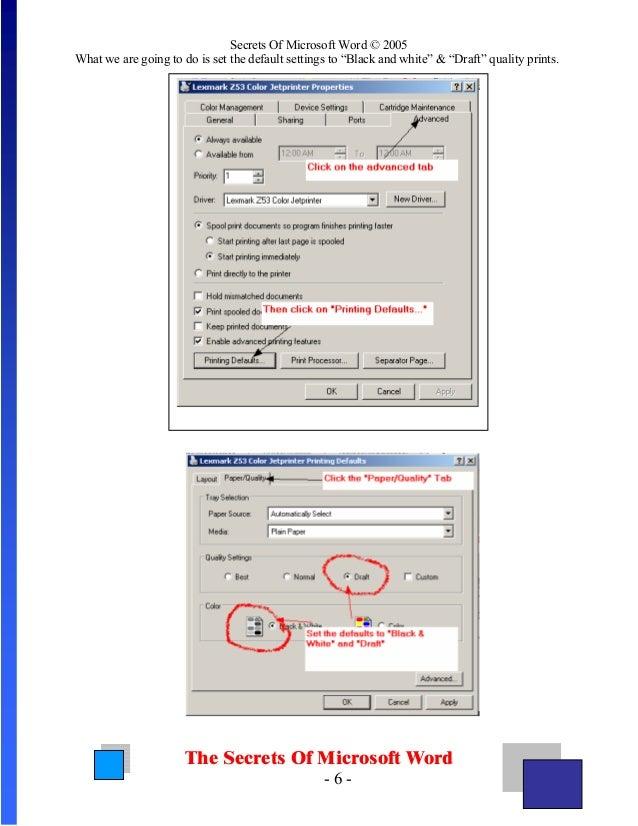 Microsoft Word Secrets