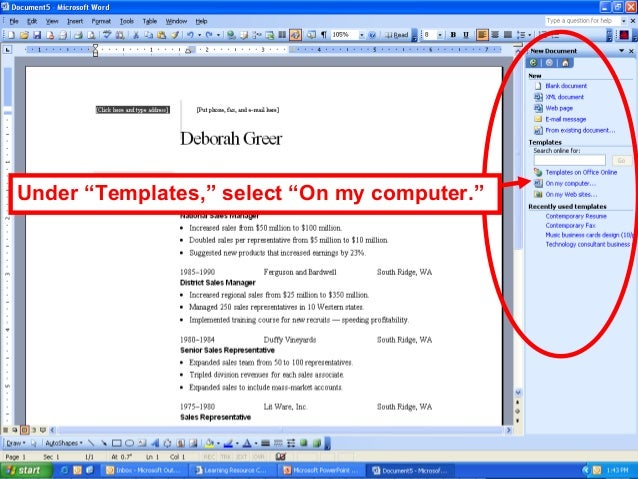 Superb Microsoft Office Word Templates Resume Dravit Si And Resume Wizard Microsoft Word