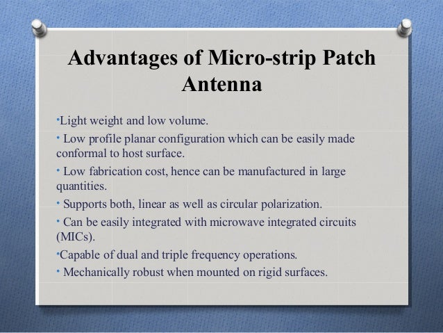 micro strip patch antenna This is the design of microstrip antenna for wireless local area network in this video we simulate various results of antenna parameter to download follow.