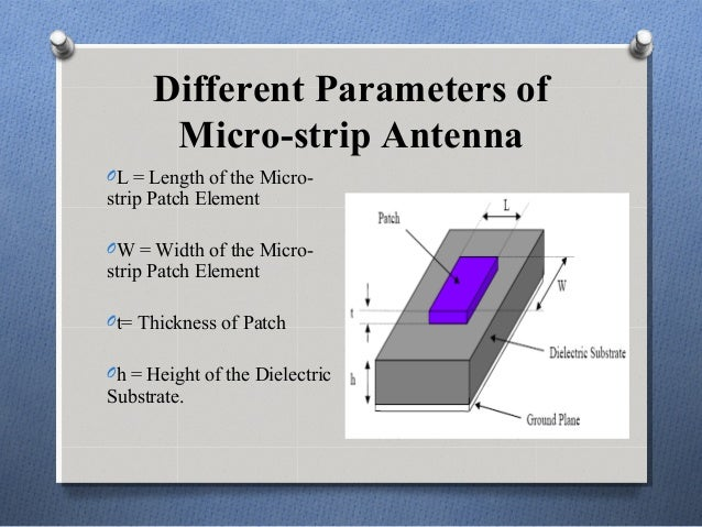 micro strip patch antenna This study proposes a microstrip patch antenna to detect salinity and sugar  content in water the microstrip antenna is a low‐cost and.
