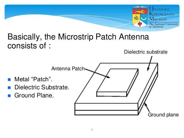 patch antenna design using cst