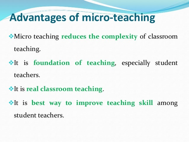 micro teaching Micro teaching skills 1 selected micro – teaching skills structure 21 22 23 introduction objectives skill of probing questions 231 introduction 232 components of skill 233 micro-lesson plan 234 observation schedule 235 activity 24 skill of explaining 241 introduction 242 components of.