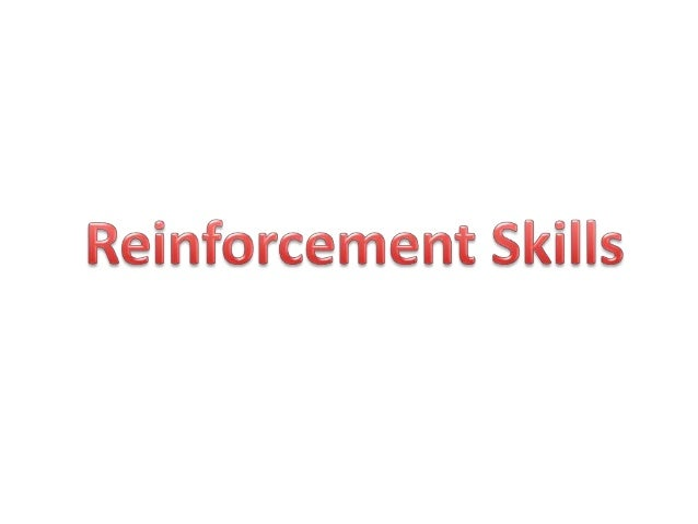 Introduction  The term reinforcement was introduced by Pavlov in 1903.  The concept of reinforcement means getting the w...