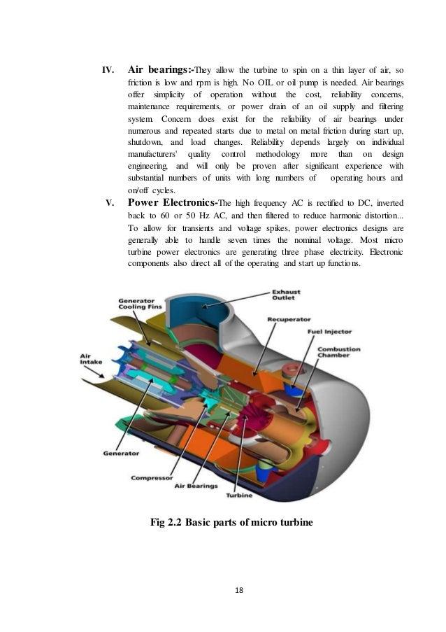 Micro turbine seminar report