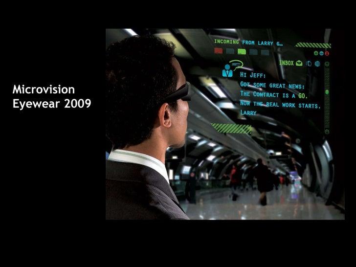 MVIS AR Eyewear Presentation