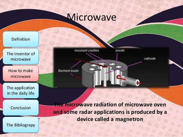 microwave and radio wave and applications
