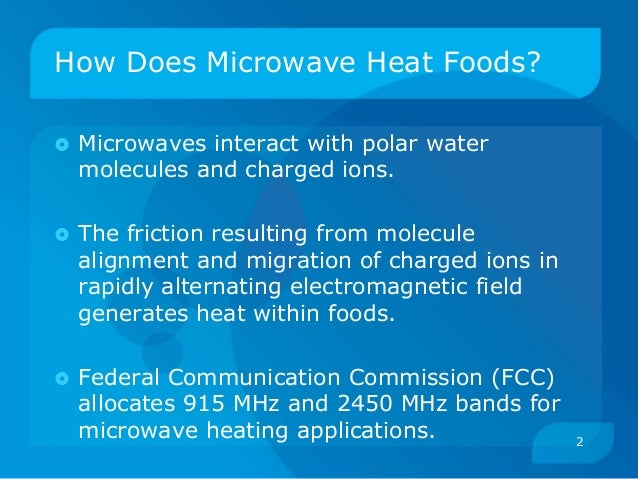 Microwave Food Processing