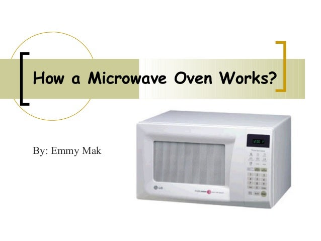 how to make microwave oven