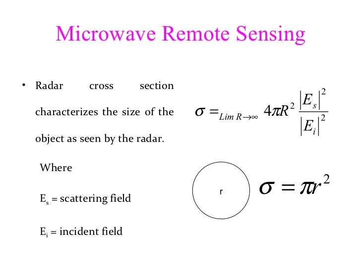 Theory of Microwave Remote Sensing