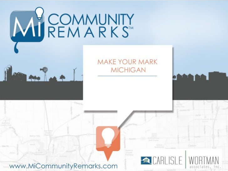 REAL-TIME VISUALIZATION  Place-based comments for planning projects