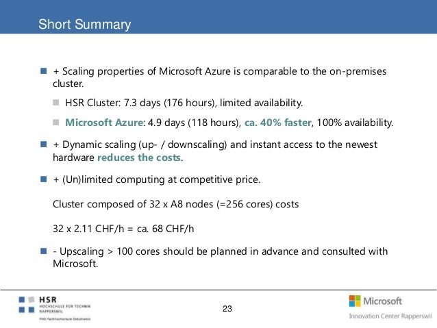 Cloud Roundtable at Microsoft Switzerland