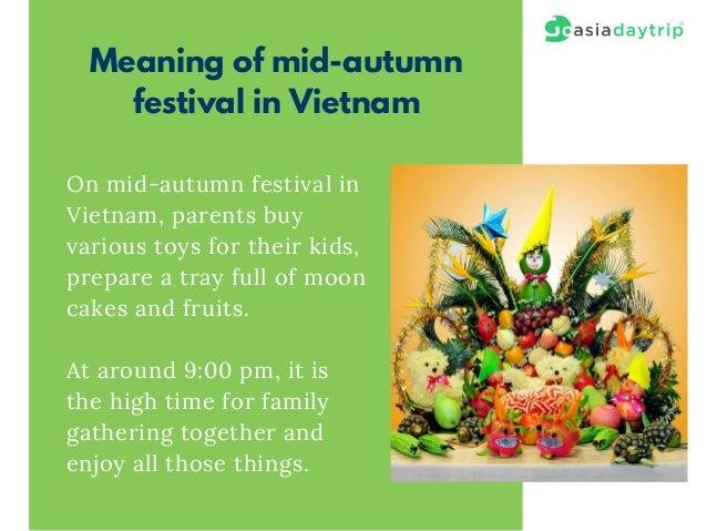 Mid-autumn festival in Vietnam
