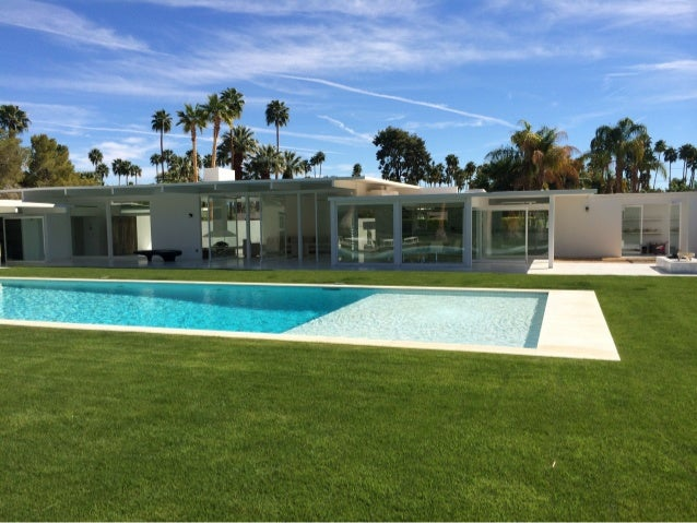 Mid century modern house tour palm springs for New mid century modern homes palm springs