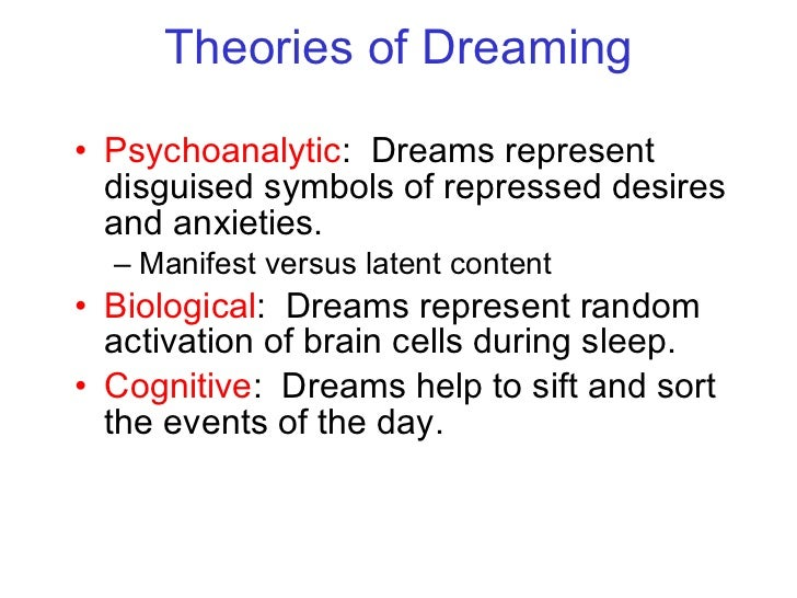 Consciousness Sleep And Dreaming