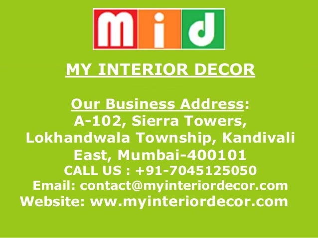 My Interior Decor Mid Modular Kitchen Mumbai Price List Modular Kit