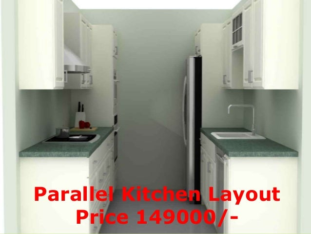 Parallel Kitchen Layout Price 149000/  ...