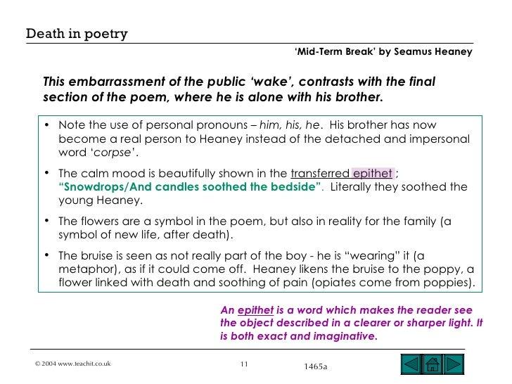seamus heaney poems