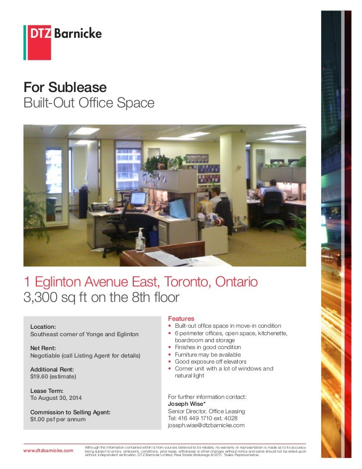 Available Rooms To Rent On  Eglinton Avenue East
