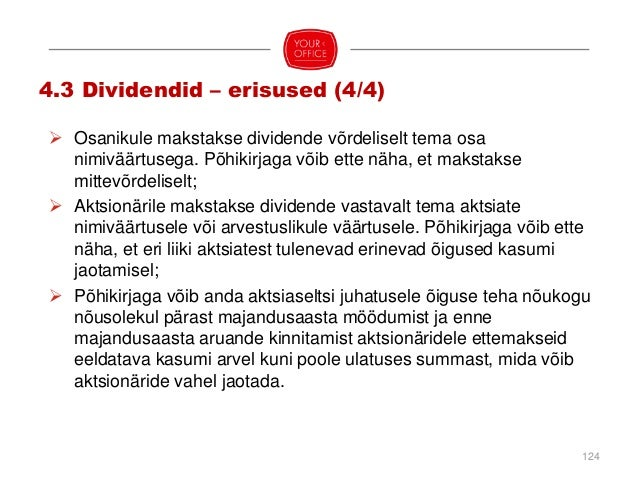 Äriühing lõpetatakse (ÄS § 201, 364): (1) osanike/aktsionäride otsusel 2/3 häälteenamusega, (2) kohtulahendiga, (3) pankro...