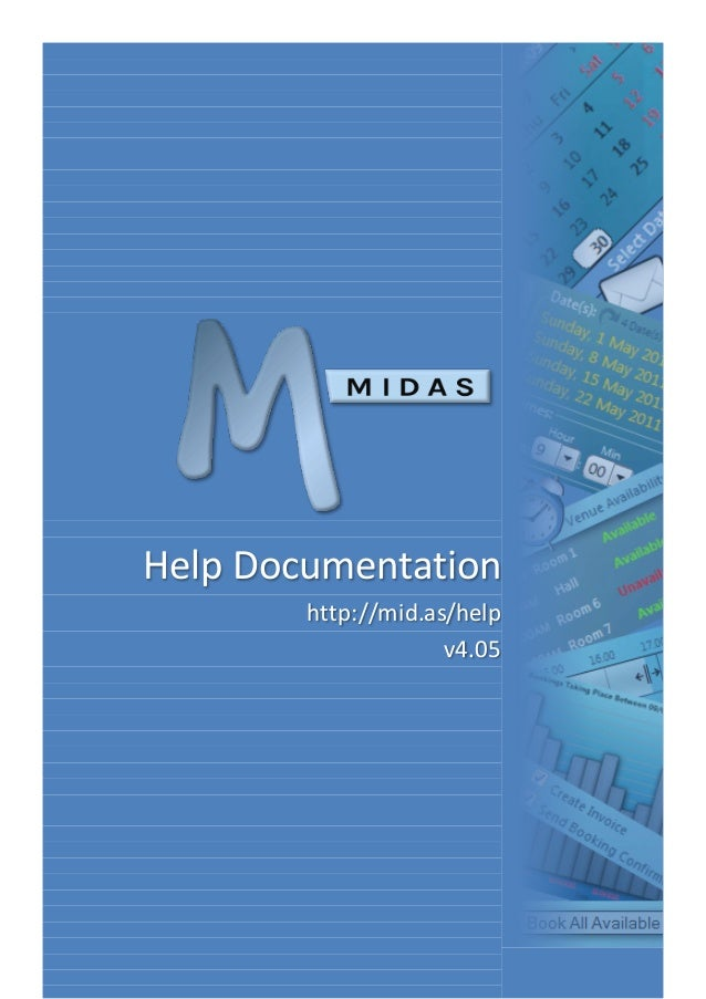 Help Documentation http://mid.as/help v4.05
