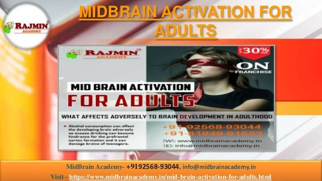 MIDBRAIN ACTIVATION FOR ADULTS MidBrain Academy- +9192568-93044, info@midbrainacademy.in Visit - https://www.midbrainacade...