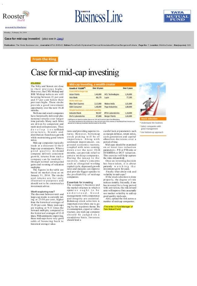 +       Monday,February24,2014  Caseformidcapinvestini(alsoseeinJpeg) Publication:TheHinduBus...