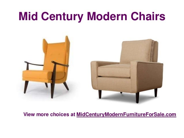 Best online furniture of mid century modern chairs for Mid century furniture online