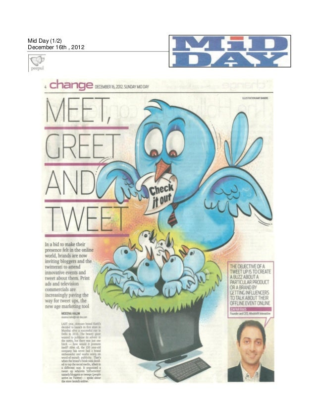 Mid Day (1/2)December 16th , 2012