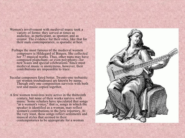 a famous french woman troubadour was