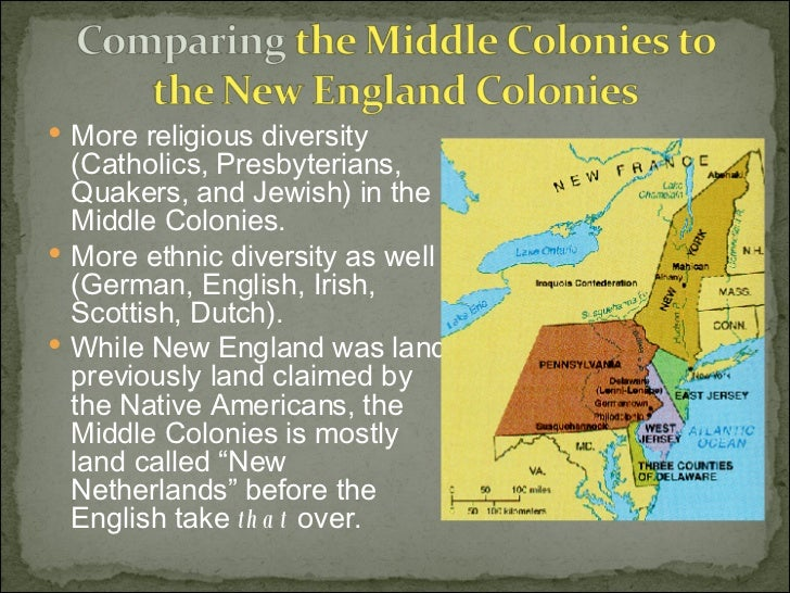 Middle Colonies - Middle colonies religion