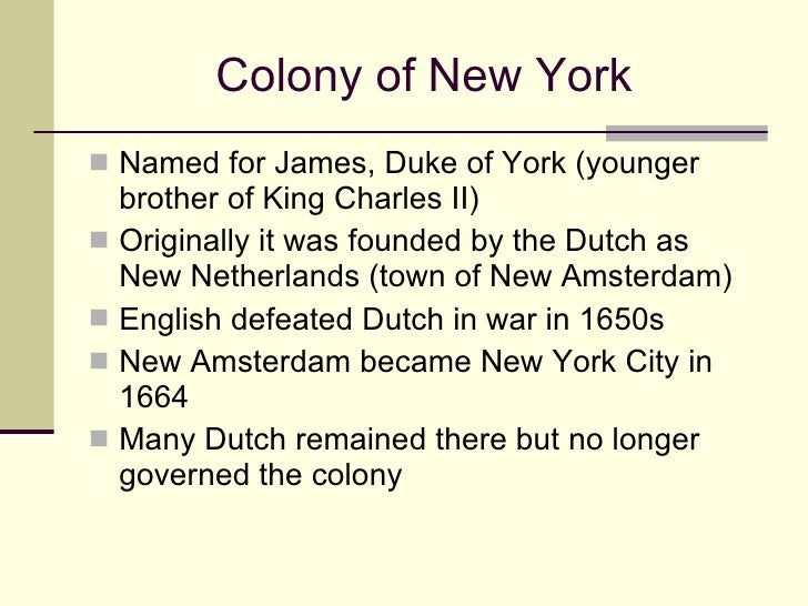 Kid Facts About  Colonies
