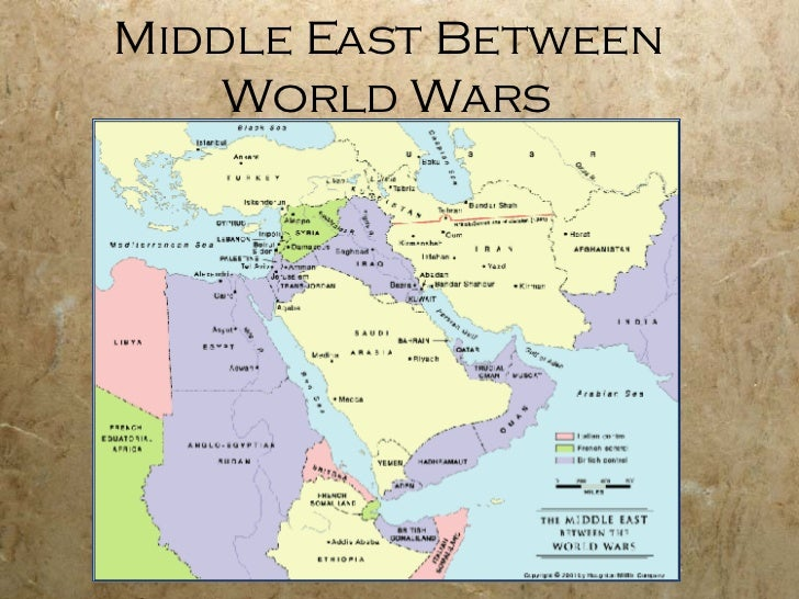 Middle East Map Before Ww2.Middle East Since Wwi