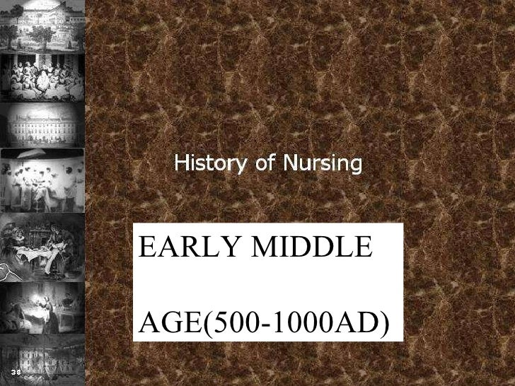 EARLY MIDDLE  AGE(500-1000AD)