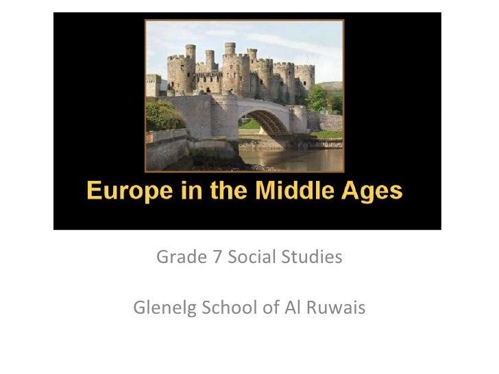 Grade 7 Social Studies Glenelg School of Al Ruwais