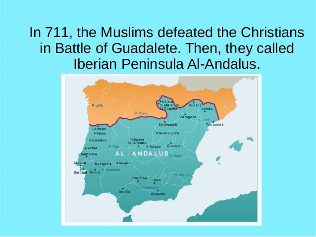 the invasion of muslims in iberian peninsula in 711 The moorish invasion of the iberian peninsula still be muslim today the iberian peninsula became the beginning of the invasion in 711 to 1492 when.