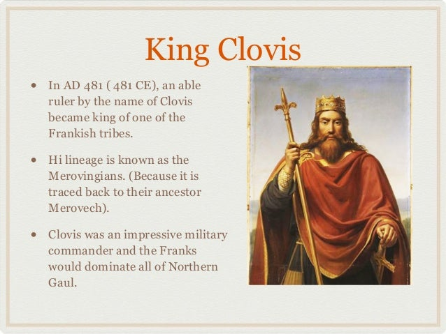paper on clovis and frankish kingdom The germans (german: deutsche  they would form what would be referred to as the frankish kingdom  clovis not only defeated rivalling frankish kings but he also.
