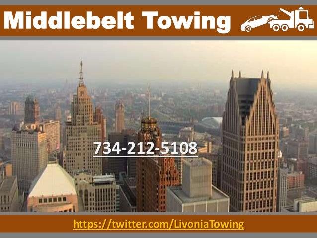 httpstwittercomlivoniatowing middlebelt towing 734 212 5108