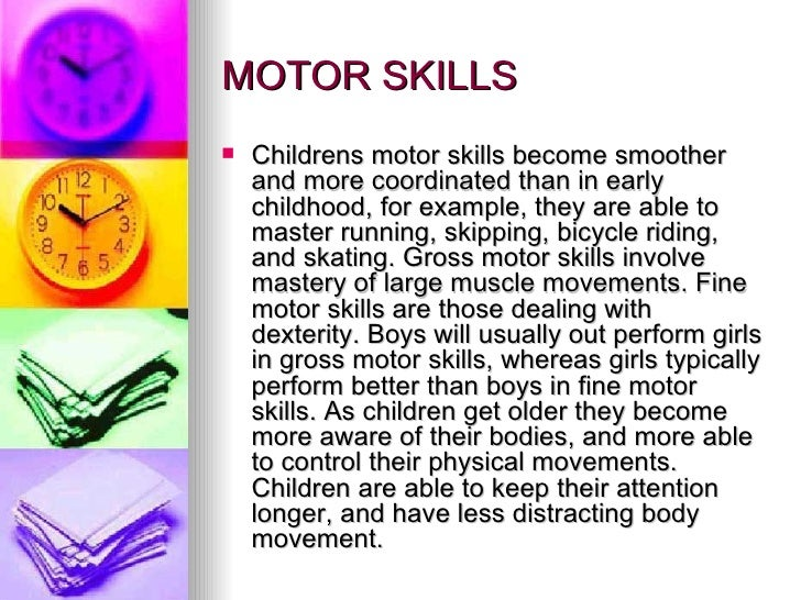 physical development middle childhood Middle childhood, which you know is from 6-11 years of age objectives after  reading this lesson, you will be able to: describe physical development in.