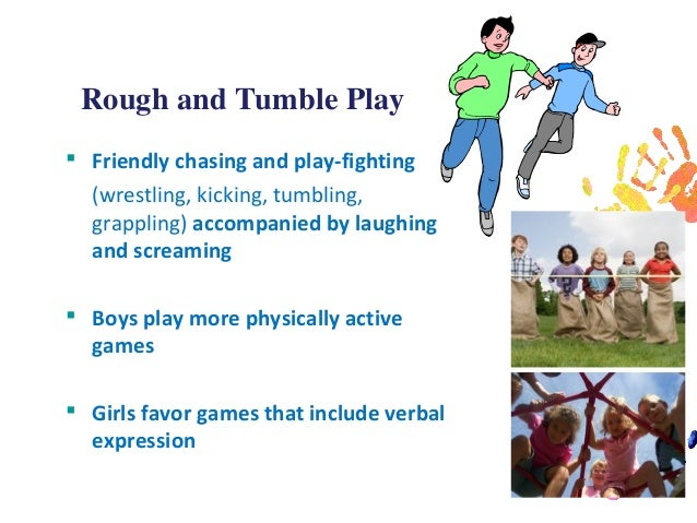 rough and tumble behaviour and child development Early child development and care  the role of child negative affect in the  ing parenting was negatively related to rough-and-tumble play for children low in .