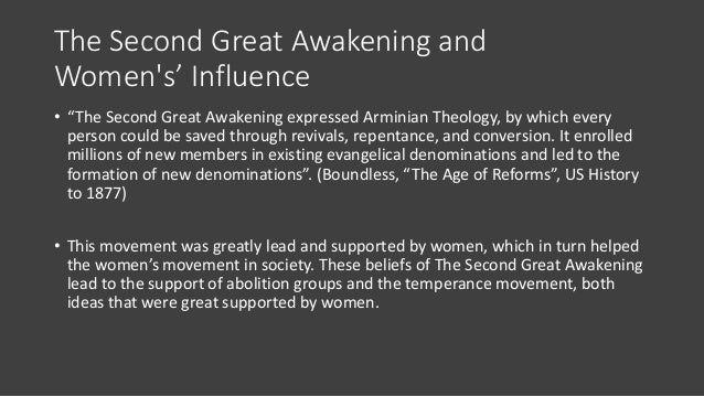second great awakening reform movements essay Start studying apush second great awakening learn vocabulary, terms,  it also had an effect on moral movements such as prison reform,.